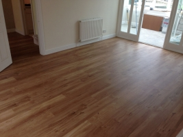 Wood & Laminate Flooring - A Newly Laid wooden Floor
