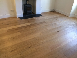 Wood & Laminate Flooring - A Finished Wooden Floor