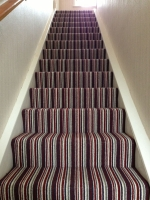 Carpets - Stair Carpet Laid
